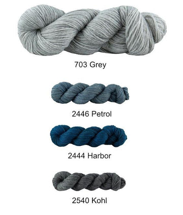 Destello Scarf Kit - Clouds