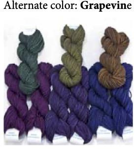 Entrelac Wrap Kit - Prism Yarn