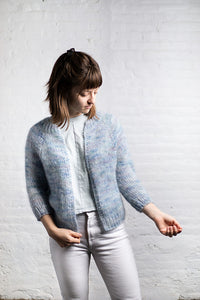 Contrails Cardigan Kit - Bubbles Size B
