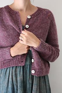 Felix Cardigan Pattern - by Amy Christoffers