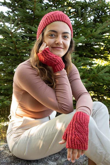 Hatfield Hat & Mitts Pattern (2020LJ-6) (Digital Download)
