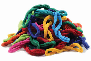Lotta Loops Bag of Loops Kit For traditional loom in Bright colors: Harrisville Design