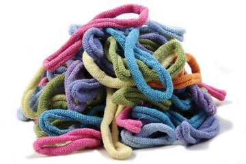 Lotta Loops Bag of Loops Kit For traditional loom in Pastel colors: Harrisville Design