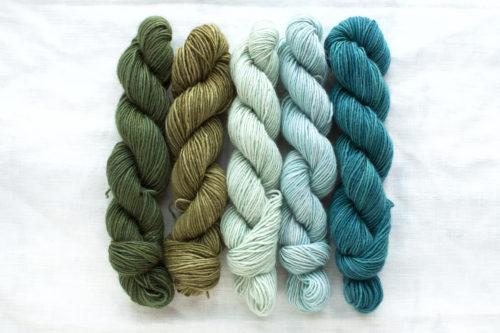 Manos Fino Mini Skeins - 6 Flora