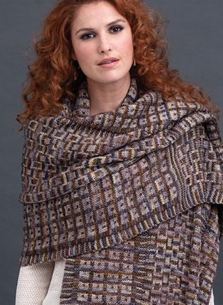 Mosaic Wrap Kit Large - Neutrals - Prism Yarn