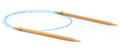 "Natura Circular Knitting Needles 24""  US 17"