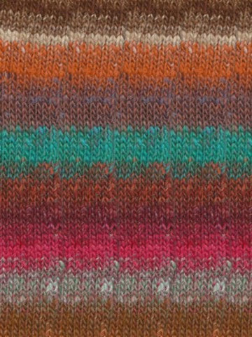 Noro Silk Garden Sock 418 - Persian Orange