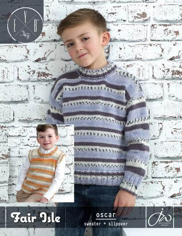 Oscar Sweater - Fair Isle