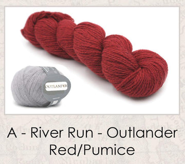River Run Shawl - Outlander