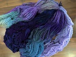 Ski Lodge Throw Kit Violet