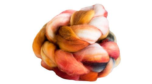 Superwash Merino Top T8977 Tigerlily