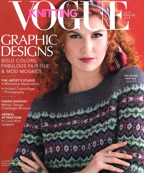 Vogue Knitting Late Winter 2019