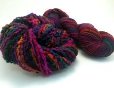 Warm & Wooly Throw Kit Spring Eclipse