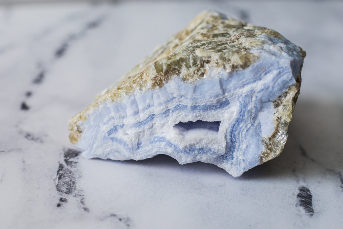 Blue Lace Agate (Large)
