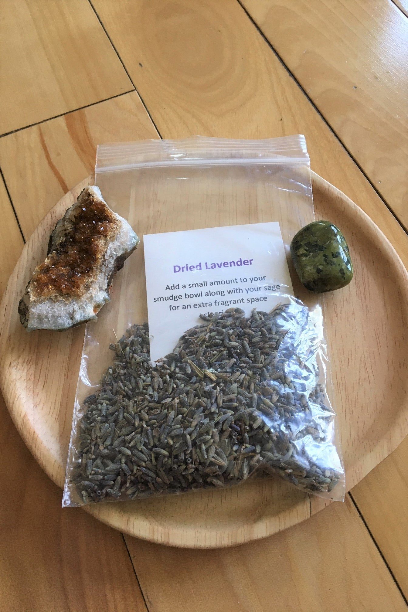 Dried Lavender Smudge