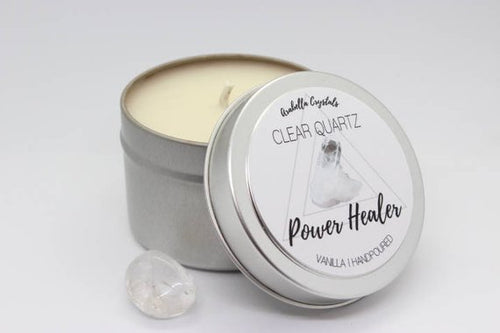 Crystal Candle - Power Healer