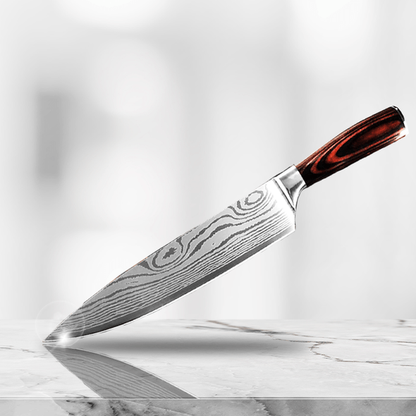 """Sho"" - Stainless Steel 8"" Chef Knife"