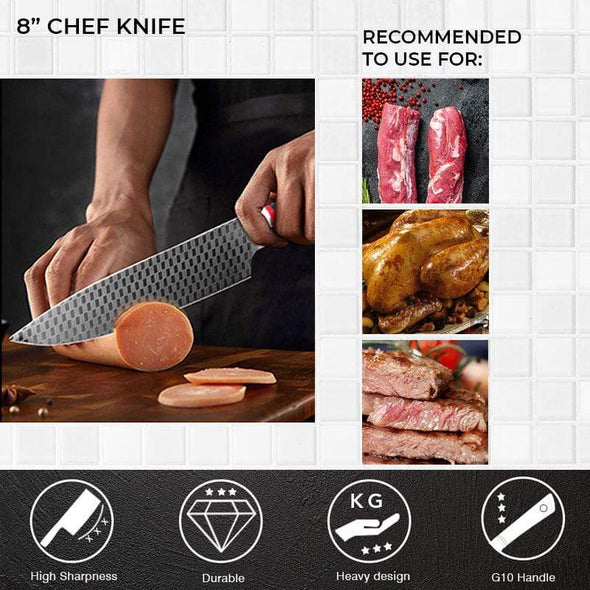 Shogun Set (Polkadot) - for the Ultimate Chef (9 Piece)