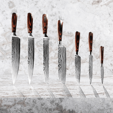 Daimyo Set - for the Entertainer Chef (7 Piece)