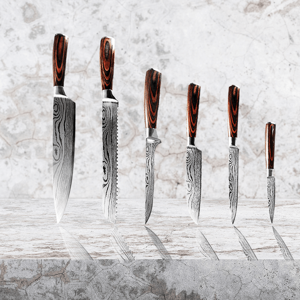 Daimyo Set - for the Elaborate Chef (6 Piece)