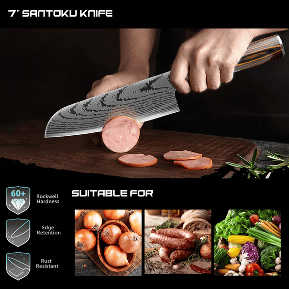 Ronin Set - Santoku and Utility