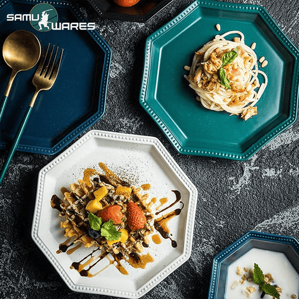 Royal Octagon Ceramic Tableware