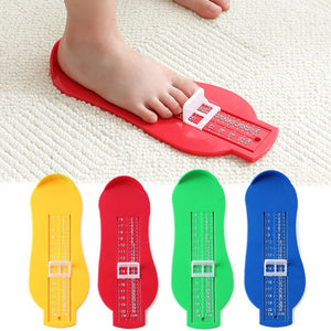 Children Adjustible Shoe Size Foot Ruler