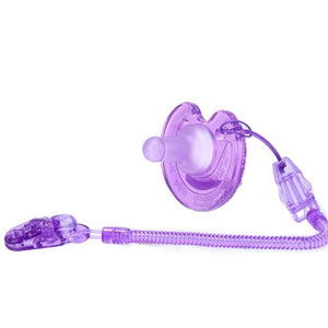 Baby Pacifier With Chain Clip Holder