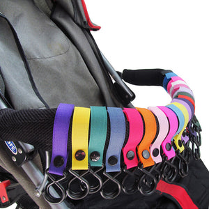 3Pcs Stroller Plastic 2 Hook Cup Holder