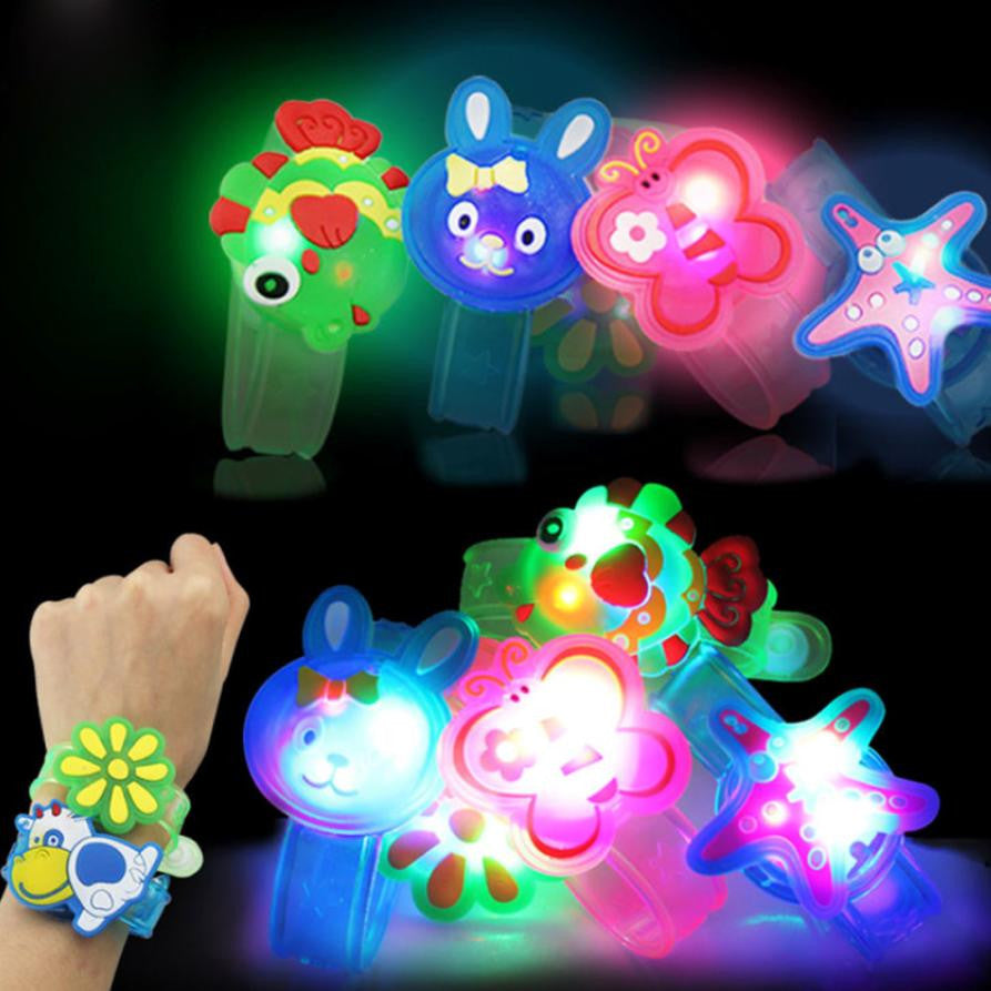 Unisex Toddler Flash Light Up Wristbands (assorted styles/colors)