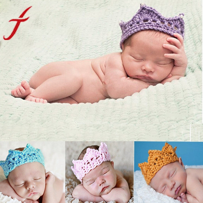 Unisex Infant Crown Headband