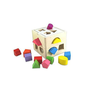 Toddler/Baby Wooden Shapes Block Set