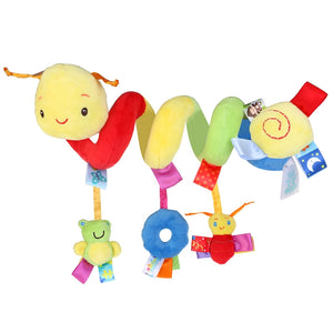 Baby Spiral Hanging Rattle for Stroller Car Seat