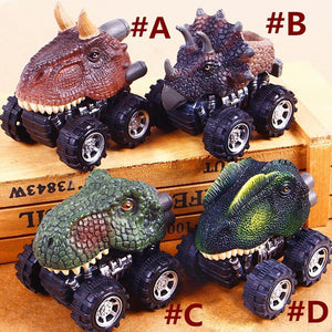 Toy Dinosaur Model Mini Car  (assorted models)