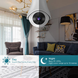 1080P Wifi IP Wireless Panoramic Night Vision Baby Monitor