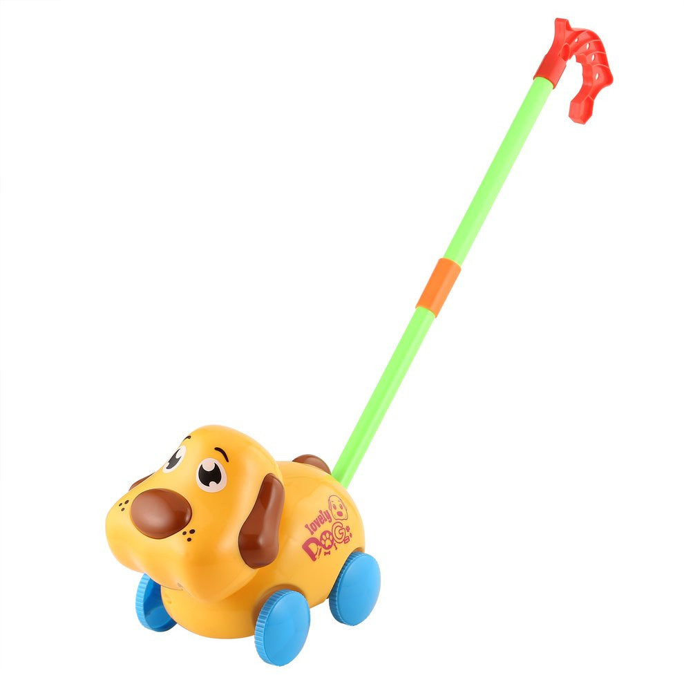 Infant/toddler Hand Push Dog Toy