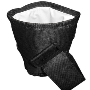 Black  Oxford Cloth Stroller Bag with Pendant Mug Cup Holder (Waterproof Design)