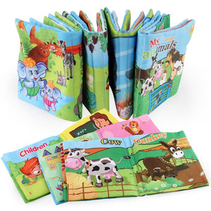 Infant Early education cloth book
