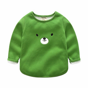 Toddler Boy Long-sleeved Crew-Neck shirt (mult. colors)