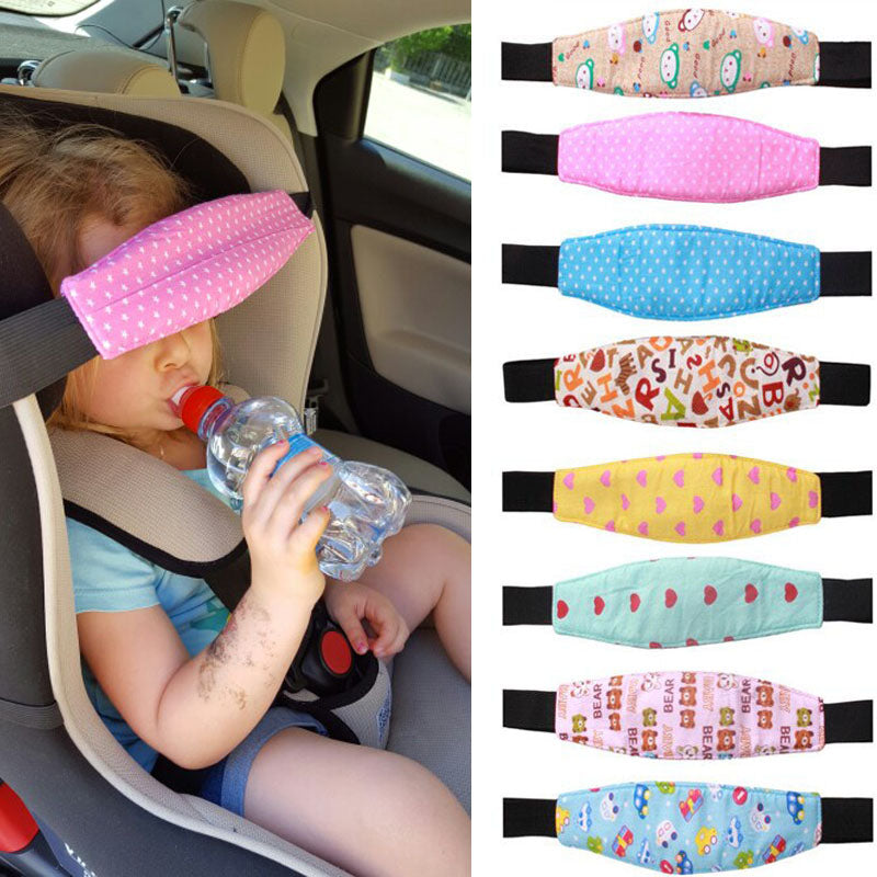 Car/Stroller Seat Adjustable Baby Head Sleep Positioner (assorted colors/prints)