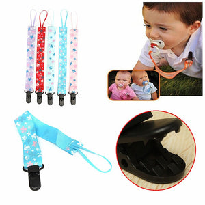 Baby Pacifier Leash Strap Clip