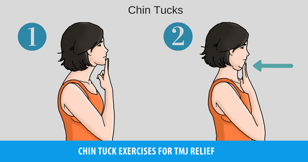 How to Perform Chin Tuck Exercise for TMJ Relief