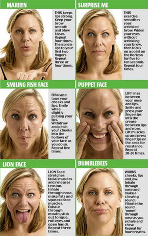 facial exercises techniques