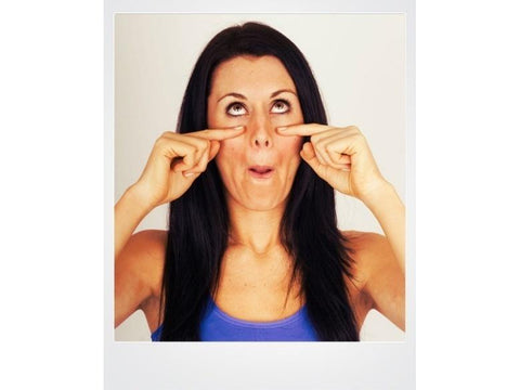 Anti Aging Facial Exercises - The Flirty Eyes