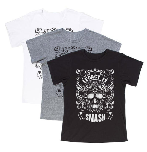 My Legacy is SMASH T-Shirt - Gadgets and Mobile