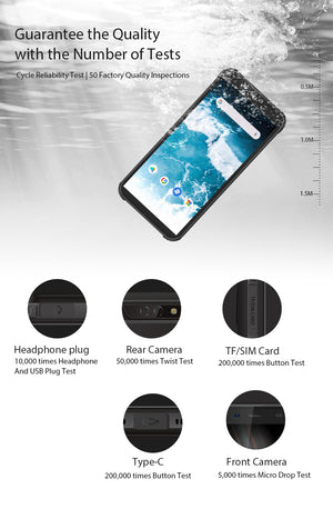 Rugged / Waterproof Smartphone