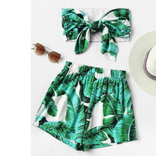 Bandeau Two Piece Set