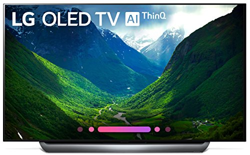 LG OLED65C8PUA 65-Inch 4K Ultra HD Smart OLED TV (2018 Model)