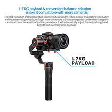 FeiyuTech a1000 3-Axis Gimbal Stabilizer, Payload Upgrade to 150-1700 g, for Sony a Series RX Series Panasonic, Cameras, iPhone X 8, Samsung S8, GoPro Hero 6 5, with Carrying Case & 16 GB SD Card