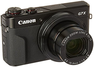 Canon PowerShot G7 X Mark II (Black) (International Model) No Warranty